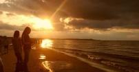 Nad polskim morzem też może być pięknie