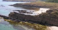 Dzikie plaże w Sinemorecu.