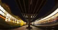 Dworzec nocą