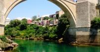Magiczny most w Mostarze
