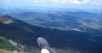 Ja na szczycie góry