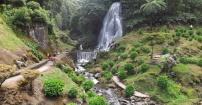 Wodospady w Ribeira grande