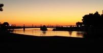 Zachód słońca Adriatyk