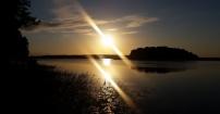 Wschód słońca na Mazurach