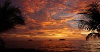 Tajski zachód słońca