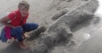 Budujemy  z piasku w Łebie