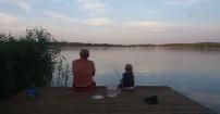 Na rybach z dziadkiem