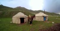 Kirgiskie krajobrazy 300m  n.p.m.